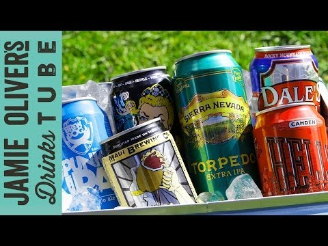 Craft Beer in Cans | Sarah Warman | Jamie Oliver's Drinks Tube