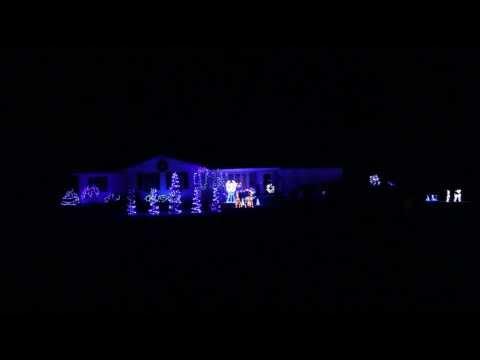 "Moses Family Christmas Lights 2013 ""Rocking Around The Christmas Tree"" Dubstep Fremont, Ohio"