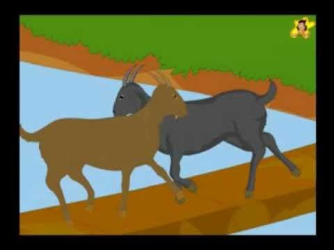 Two Silly Goats - A Short Story For Kids video