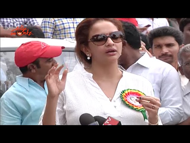 Manchu lakshmi Speech @ MAA 2015 Elections Voting