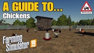 A Guide to... Chickens! Farming Simulator 19 PS4. Tutorial.