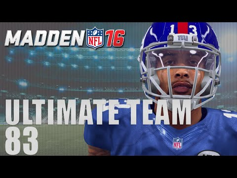Madden 16 Ultimate Team - Rookie Odell Beckham Ep.83