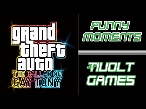 Najlepsze momenty tivolta z GTA IV: The Ballad of Gay Tony FULL HD