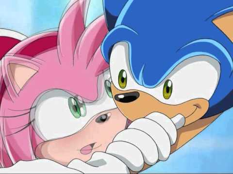 sonic and amy ~ when you look me in the eyes.wmv