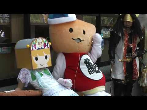 岐阜市 「のぶさま。お誕生日会」 ~武者行列&ゆるキャラパレード~