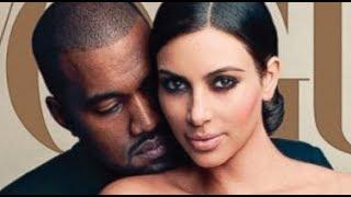 Kim Kardashian Sexy Wedding Makeup VOGUE Cover