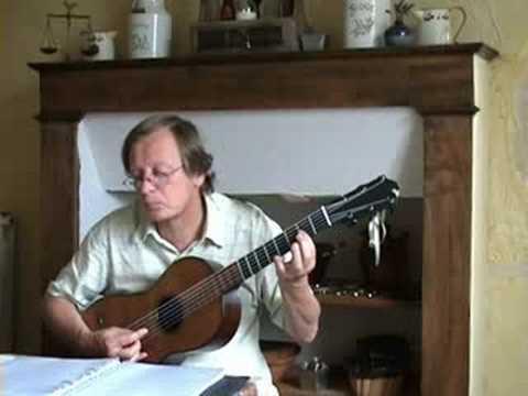 Johann Kaspar Mertz - Ländler op. 9 N° 4 - Romantic guitar