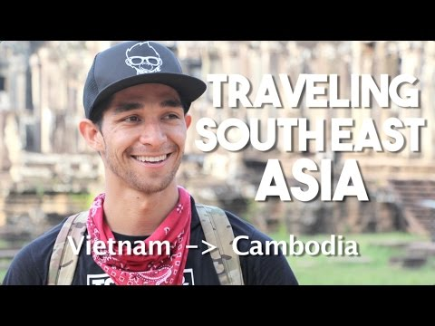 Backpacking SouthEast Asia (Bus Ride from Vietnam to Cambodia)