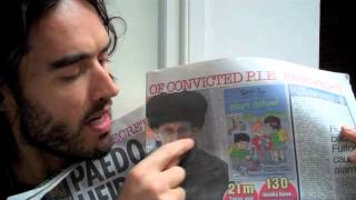 The Trews Ep 8: Missing plane terror mystery - True News with Russell Brand 10.03.14