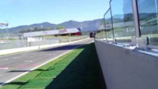 Ducati 800 MotoGP bike flat out