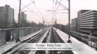 Zontar Party train
