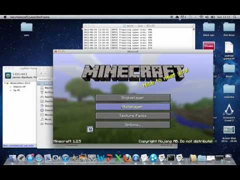 How to make your own Minecraft Server on Mac Free