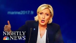 Marine Le Pen, Emmanuel Macron Gear Up For French Presidential Election Runoff   NBC Nightly News