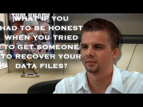 VKMTV - If You had to be honest to Data Recovery Center