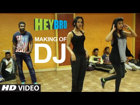 Making Of 'dj' Video Song | Hey Bro | Sunidhi Chauhan, Feat. Ali Zafar | Ganesh Acharya | T-series video