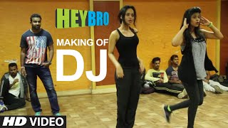 Making of 'DJ' Video Song from Hey Bro