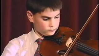 "Ben Shapiro, 12, Plays ""Schindler's List"""