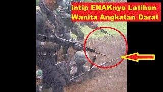 Mengintip Enaknya LAtihan Wanita Angkatan Darat KOWAD Indonesia jadi Viral