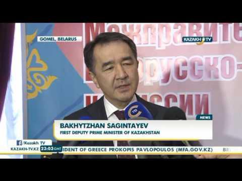 Kazakh Belarusian intergovernmental commission holds meeting