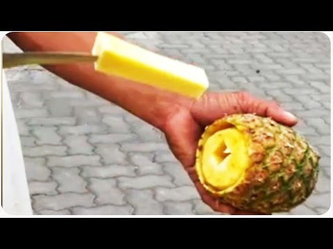 How to Cut a Pineapple | Pineapple Express