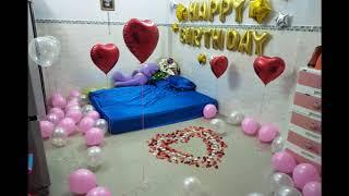Trang Trí sinh nhật cho người yêu bất ngờ hạnh phúc