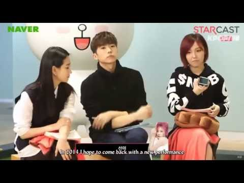 JYP Nation - LINE Star Chat 2014 [Eng Sub]