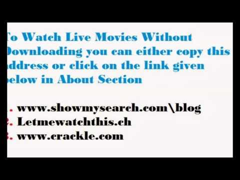 Watch Movies online with Download ( Free Streaming)