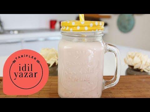 Çilekli Süt Nasıl Yapılır? - İdil Tatari - Yemek Tarifleri