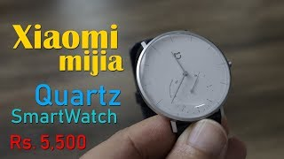Xiaomi Mijia Quartz smartwatch review - this is analog smartwatch for just Rs. 5,500