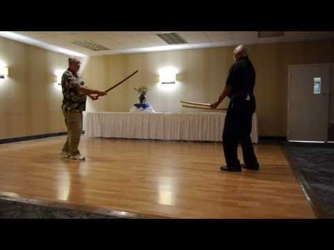 Bushi No Te 2013: Kenjutsu techniques with Ron Holloway & Sam Norris (Demo #1) Image 1