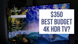 Best Budget 4K HDR TV 2019? | TCL 55S425 55-inch 4K Smart LED Roku TV REVIEW