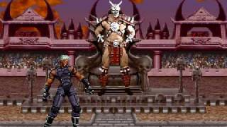 [MUGEN] Special: Krizalid (me) vs Kintaro and Shao Kahn (CPU)