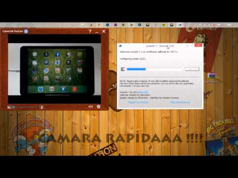 Jailbreak untethered IOS 7/7.0.6 español iPhone. iPad. iPod (windows)