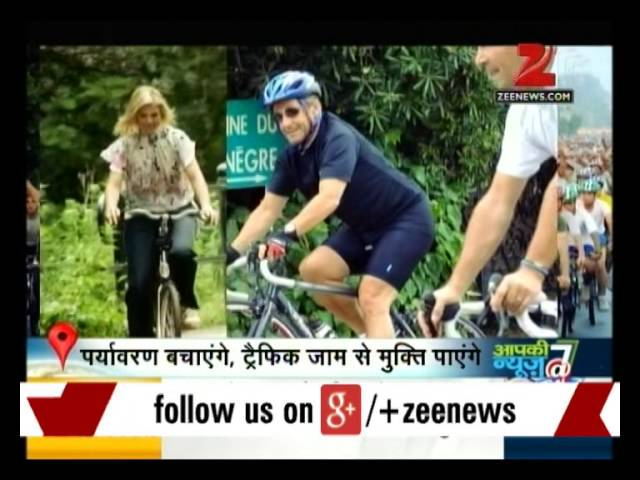Ranchi: Central Coalfields Limited workers ride bicycles to curb pollution