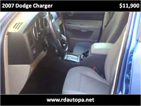 2007 Dodge Charger Used Cars Philadelphia PA