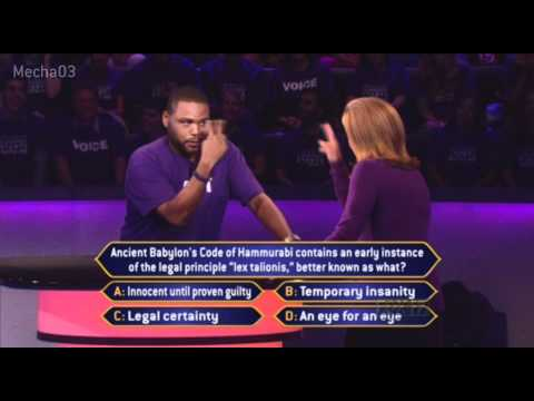 0 I Did NOT Wink!   Who Wants to be a Millionaire [Season 10]