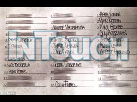 Lindsay Lohan List 36 Celebrities She Had Sex With including Heath Ledger & Justin Timberlake