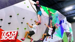 King of the Rock Wall! | Ninja Warrior Challenge