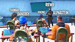 REWI ist ALPHASTEINS LEHRER! - Fortnite Teacher!