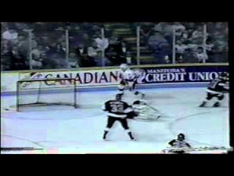 NHL 1993 - LA Kings vs Winnipeg Jets (Finland game)
