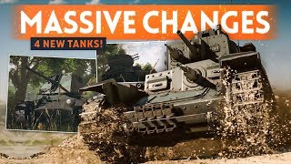 BATTLEFIELD 5 BIG CHANGES REVEALED! 4 New Tanks, Attrition Tweaks, Player Visibility & MORE!