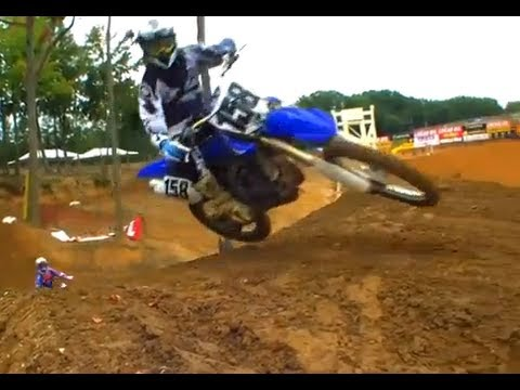 2010 Yamaha YZ450F Motorcycle Review Video
