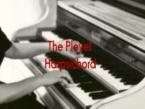 Sylvia Marlowe on PLEYEL HARPSICHORD Boogie Woogie Harry James AFRS Show Garrard 301