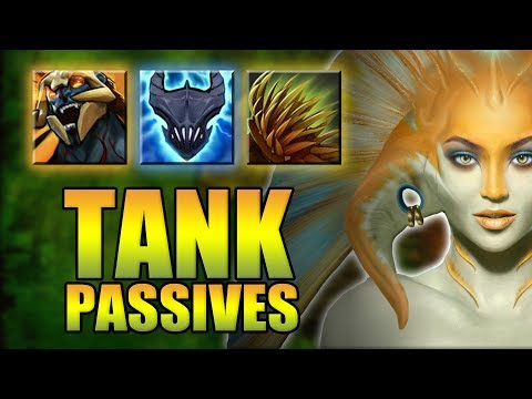 Dota 2 | UNKILLABLE PASSIVE TANK!! | Ability Draft