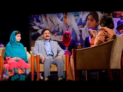 FULL Amanpour Malala Interview
