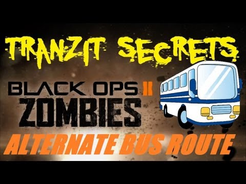 Tranzit Zombies Secrets: Alternate Bus Routes. Time Travel. and Bus Driver Locations