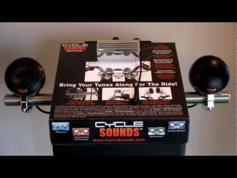 Cycle Sounds Motorcycle Speaker System