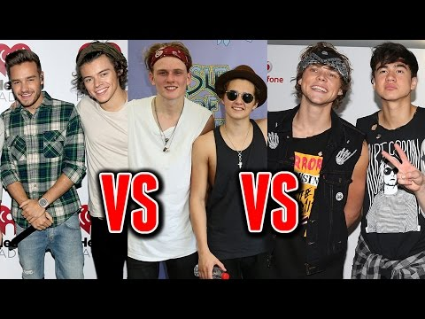 Fans Abandonan a One Direction Por 5SOS & The Vamps?