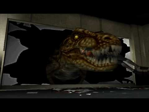 Dino Crisis Death Scene No Redout: T-Rex 1 Video