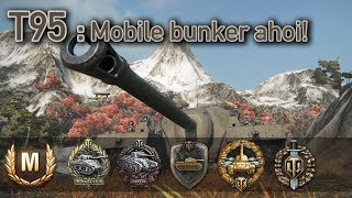 World of Tanks // T95 (Mobile Bunker Ahoi!) by Black_Gold_Saw